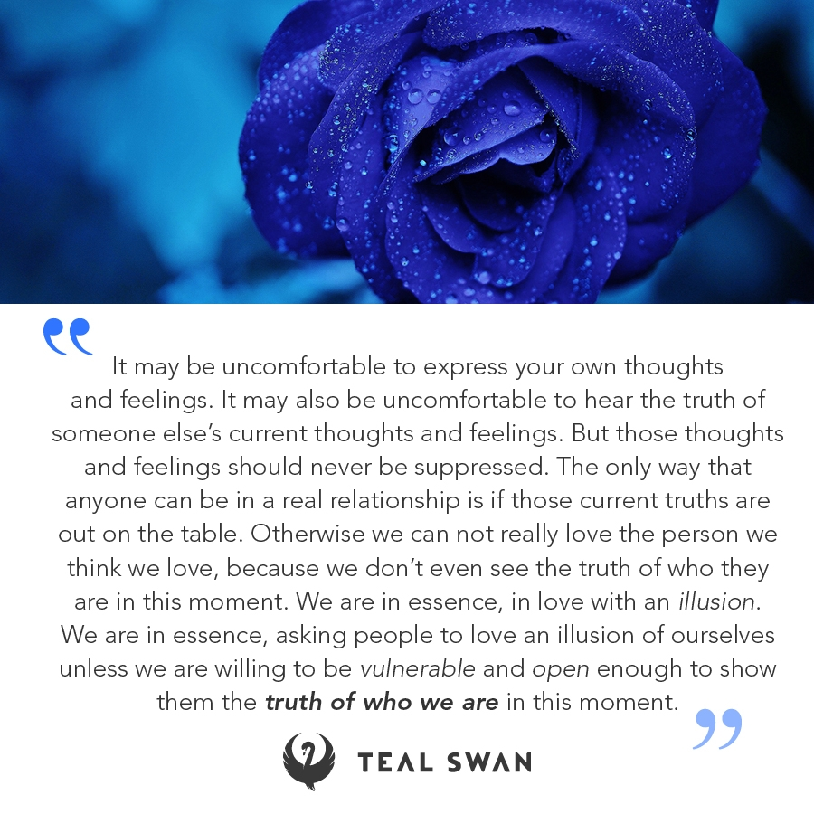 truth relationship quotes teal swan