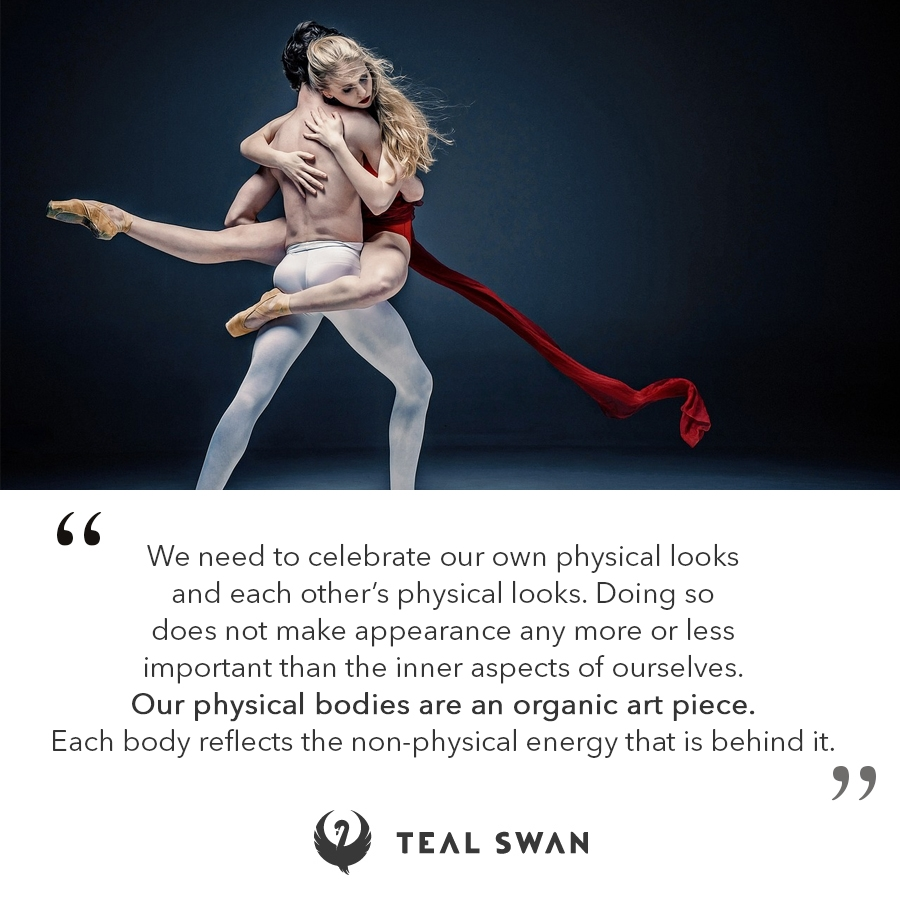Body Art Quotes Teal Swan