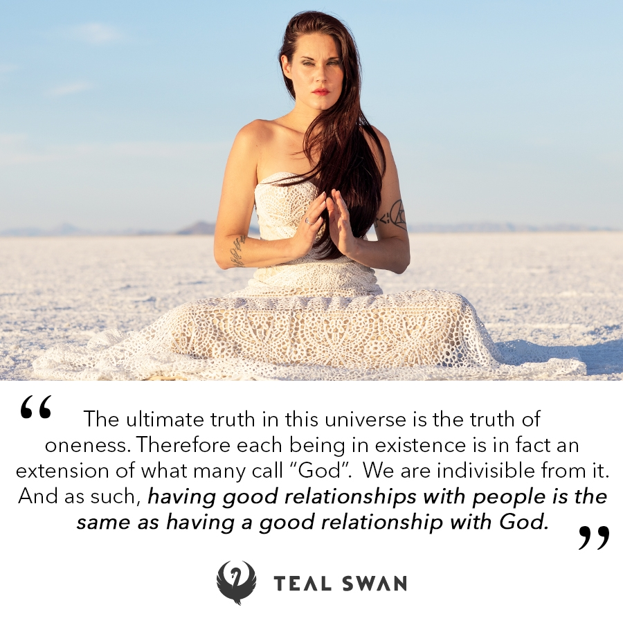relationship god quotes teal swan