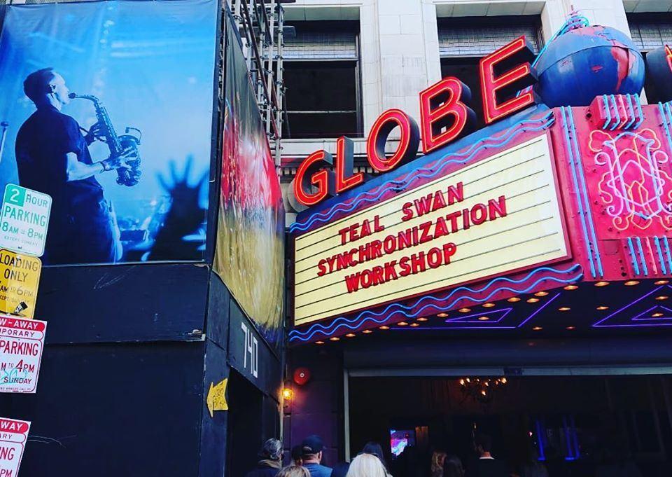 Teal  Swan at The Globe