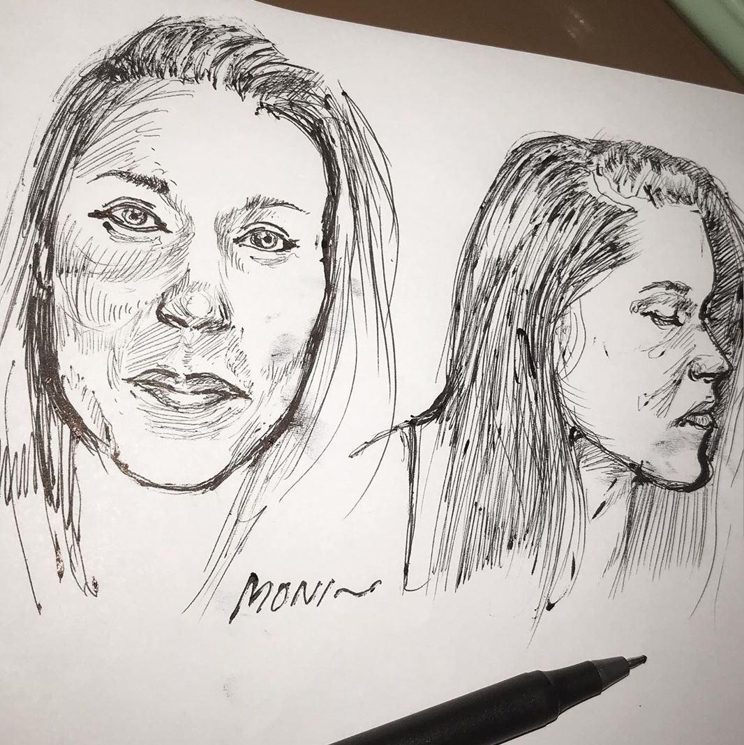 Sketch by @deep_moni